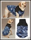 Casual Canine BLUE CAMO VEST Camouflage WEATHER RESISTANT Velcro Back XS