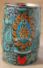 2015 Bell's Oberon Beer Mini Keg Can 5 Liter 1.3 Gallon Empty Rare Paisley