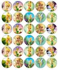 Tinkerbell Disney Cupcake Toppers Edible Wafer Paper BUY 2 GET 3RD FREE!