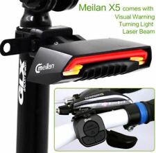 Meilan X5 Smart Bicycle Light Remote Wireless Rear Light Turn Signal with Laser