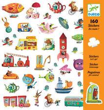 Djeco 'Let's Go' Stickers 160