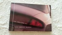 1995 Oldsmobile Aurora Owners Manual