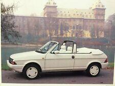 Rare Dossier De Presse 1981 FIAT RITMO CABRIO S 85 Designer BERTONE !!