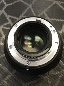 Nikon Nikkor 85mm 1.8G lens excellent condition