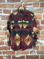 Polo Ralph Lauren M/L Southwestern Aztec Indian RRL Flannel Hunting Work Shirt