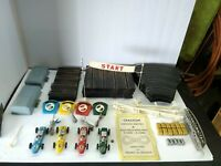Cragstan cordless electric 4 slot-track road race vtg missing power intake track