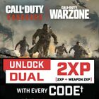 NOW! Call of Duty Vanguard - WarZone 1 HOUR DOUBLE XP (1HR 2XP + 2XP WEAPON) COD