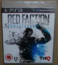 RED FACTION ARMAGEDDON for SONY PLAYSTATION 3 PS3 BRAND NEW & FACTORY SEALED!