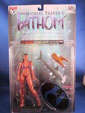 1999 Top Cow Michael Turner's Fathom Purple Suit Item #CM9001 Action Figure