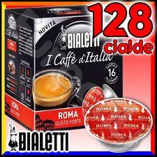 128 Capsule caffè BIALETTI ROMA cialde Mokespresso alluminio espresso Mokona