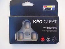 LOOK Keo 4.5° Float Grey Road Bike Pedal Cleats *New*