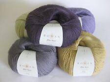 Rowan Fine Lace 50g ALL SHADES 80% alpaca 20% wool soft laceweight 400m per 50g