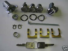 69 1969 CHEVELLE COMPLETE LOCK SET WITH GM KEYS IGNITION DOORS TRUNK GLOVE BOX