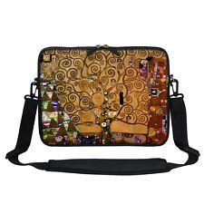 """12"""" Laptop Computer Sleeve Case Bag w Hidden Handle & Shoulder Strap 3000"""