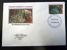 MADAGASCAR  631   PREMIER JOUR FDC    PLANTE MEDICINALE ,TALAPETRAKA  25F   1979