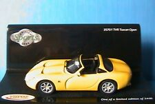 TVR TUSCAN OPEN YELLOW VITESSE 35701 1/43 ROADSTER NEW JAUNE GELB