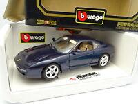 Burago 1/18 - Ferrari 456 GT 1992 Bleue