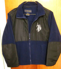 Us Polo Association windbreaker youth med polyester jacket size 10-12 embroidery
