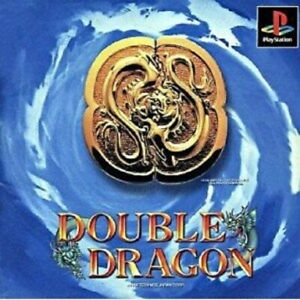 Double Dragon PS1 Urban plant Sony Playstation 1 From Japan