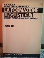 La formazione linguistica 1 di Zoi,  1984,  La Scuola
