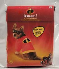 New, Incredibles 2 Dog Cat Pet Shirt & Mask Costume Size Large