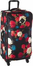 Herschel Highland Softside Checked Medium Luggage, Vintage Floral Black, 71L