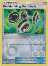 Pokemon TRAINER BODYBUILDING DUMBBELLS 113/147 UNCOMMON REVERSE FOIL MINT CARD