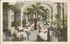 Palm Beach, FLORIDA - Whitehall Hotel - Terrace Dining Room