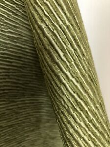 Sahco Lime Green Luxurious Upholstery Fabric RRP£116.