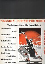 SKANKIN' ROUND THE WORLD - the international ska compilation vol. two LP
