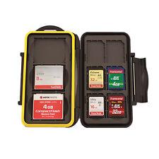MC-SD6CF3  Speicherkarten Schutzbox für 3 x Compact Flash CF und 6 x SD Karten