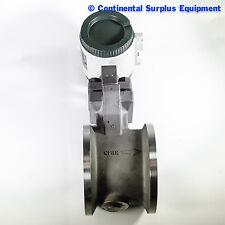 """Yokogawa 4"""" Vortex Flow Meter YF110-AAUB1A-S3S3*E, Waffer"""