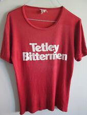 Vintage & Original T-Shirt TETLEY BITTERMEN - Rare beer collector item