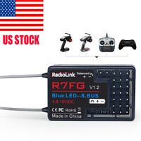 Radiolink R7FG 7CH 2.4G Gyro Transmission Telemetry Receiver for RC6GS RC4GS T8S