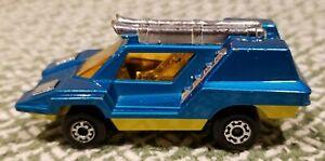 Vintage (1970s) Matchbox die-cast car, Superfast No. 68, Cosmobile