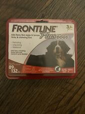 Frontline Plus for Extra Large Dogs 89-132 lbs - 3 month - Genuine EPA Approved!