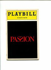 Donna Murphy Jere Shea Passion Broadway Play Signed Autograph Playbill