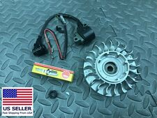 STIHL chainsaw 066, MS 660 flywheel and coil kit 1122 400 1217 and NGK plug