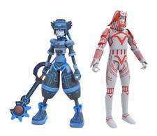 Kingdom Hearts Series 3 Sora and Tron Sark Diamond Select Action Figure 2 Pack