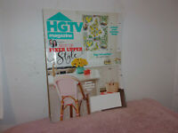 """HGTV  MAGAZINE."""" GAME-CHANGING CLEANING TIPS  """" APRIL, 2018"""