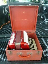 VINTAGE CASTELFIDARDO TRIONFO ACCORDIAN WORKING CONDITION CIRCA 1945
