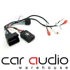 Audi A3 2003 On SONY Rear Amplified Car Stereo Steering Wheel Stalk Interface