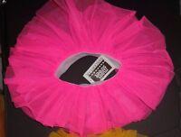 NWT Wolff Fording Organdy 3 Layer Tutu Ballet Florescent Magic Pink Girls sizes