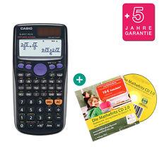 Casio fx 85 GT plus negro calculadora + mathefritz aprender CD y garantía
