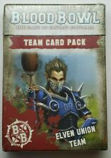 Blood Bowl  Elven Union Team cards  NEW