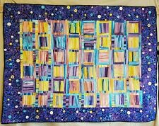 Buttons Handmade Quilt/Wall Hanging Signed By Artist Clara Oleson