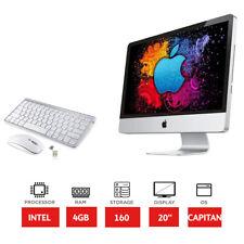"""Apple iMac A1224 - 20"""" - Intel 2.26GHz Processor - 160GB HDD - 4GB RAM"""