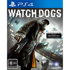 Watch Dogs - Playstation 4 (PS4) ANZ Special Edition R18+  Like New
