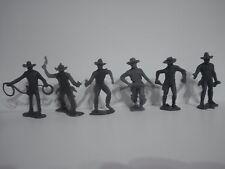 Cowboys Pistoleros! Soldatini Figurini Vintage MARX serie completa /CA/