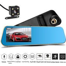 "Android 5"" HD 1080P Rear View Mirror Dash Cam CAR DVR Backup Camera 4.3 Inch"